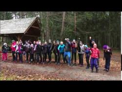 Minivideo z výpravy do lesoparku Horka.